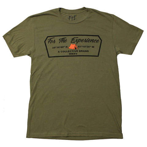 The Camper Tee (Army Green)