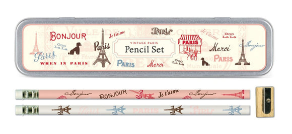 Vintage Paris Pencil Set!