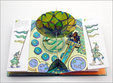 The Wonderful Wizard of Oz Pop-Up Book the wizard's hot air balloon