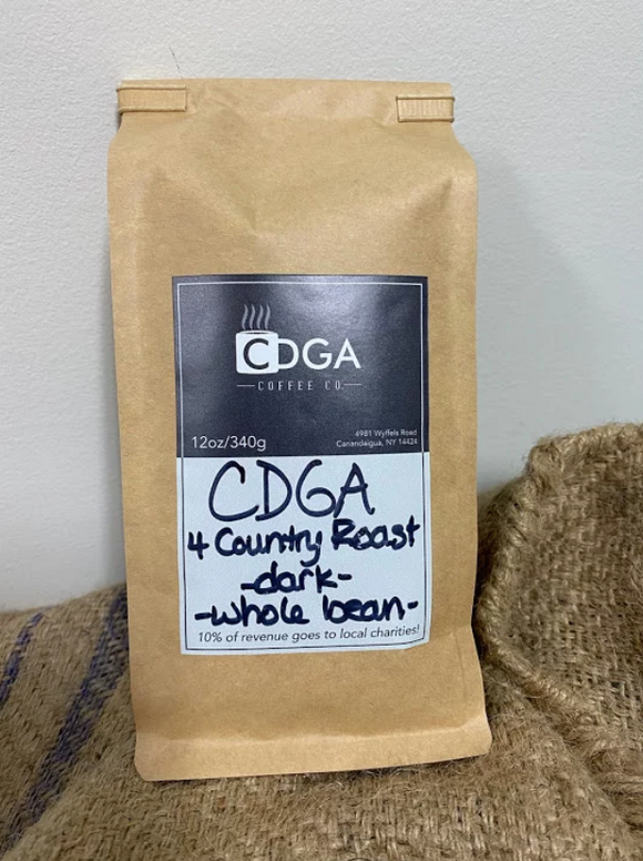 CDGA Coffee Company - CDGA 4 Country Roast