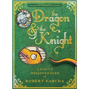 The Dragon and the Knight Pop-Up Cover