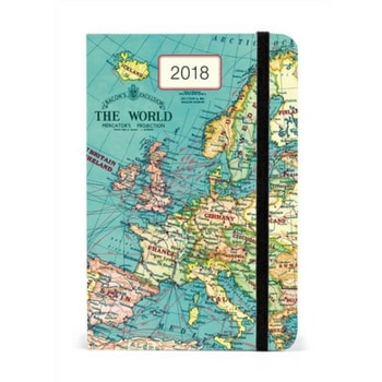 Planner World Maps Cavallini & Co.
