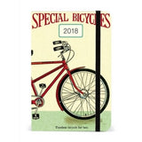 Bicycles weekly planner cover Cavallini & Co.