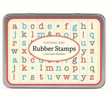 Cavallini Vintage ABC Rubber Stamp Lowercase