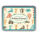 Curiosities Rubber Stamps Cavallini & Co.
