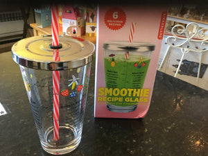 Smoothie recipe glass