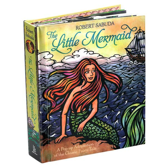 The Little Mermaid Pop-Up Book Cover