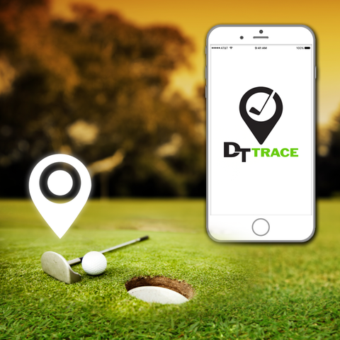 DT Trace - Never lose a golf club again!