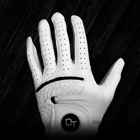 DT Cabretta Leather Golf Glove - Tour Quality Golf Glove Built for Durability
