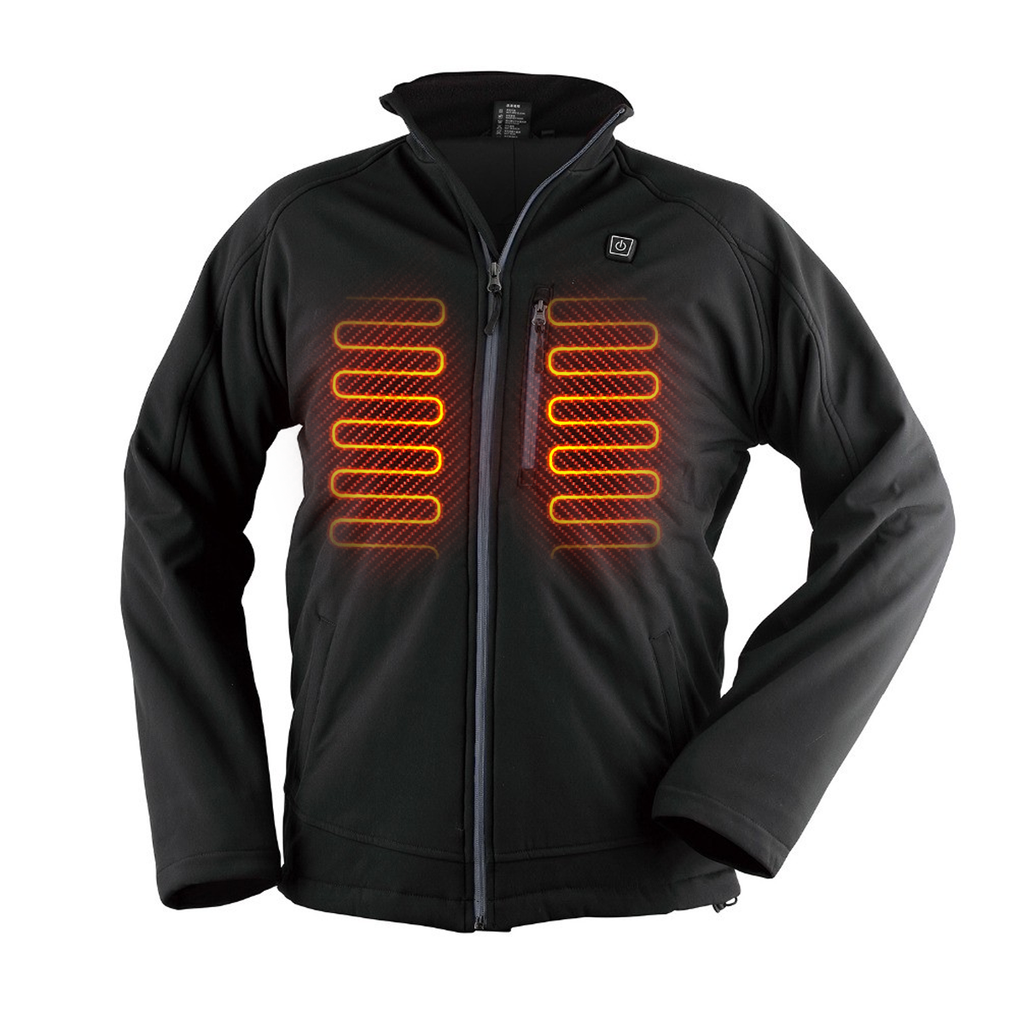 4ac87fb22 DTouch - Electric Heated Jacket with built Mobile Charging for outdoor  sports and activities
