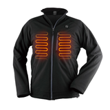 DT - Electric Heated Winter Jacket with Mobile Charging