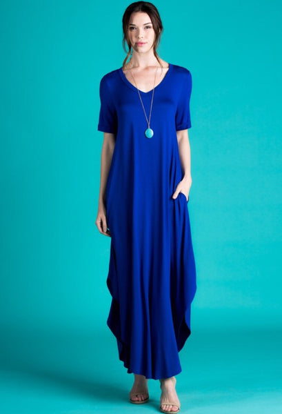 Brit Maxi - Royal Blue