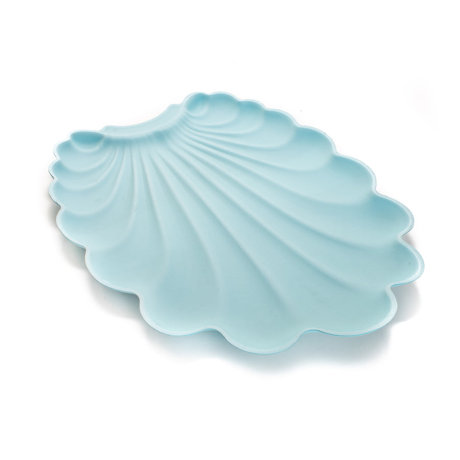 Shell Pad Splash & Crumb Catcher Mat - Blue