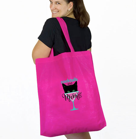 CocktailsandMeows Logo Tote Bag