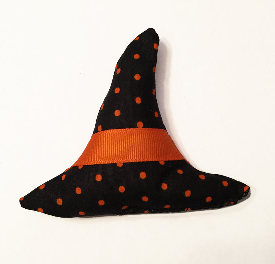 Witch's Hat Catnip & Silvervine Toy - Hand Made in the U.S.
