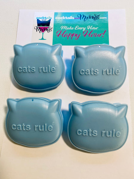 Great Grip Cat Litter Liner Clips - Blue