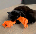 Happy Hours of Fun Organic Catnip & Silvervine Kicker - Orange