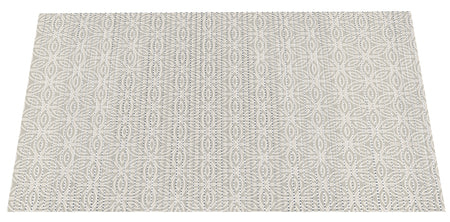 NEW! The Original Ribbed Foam Litter Mat - Taupe Paisley