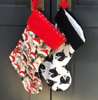 Limited Edition Black/White Holiday Stocking
