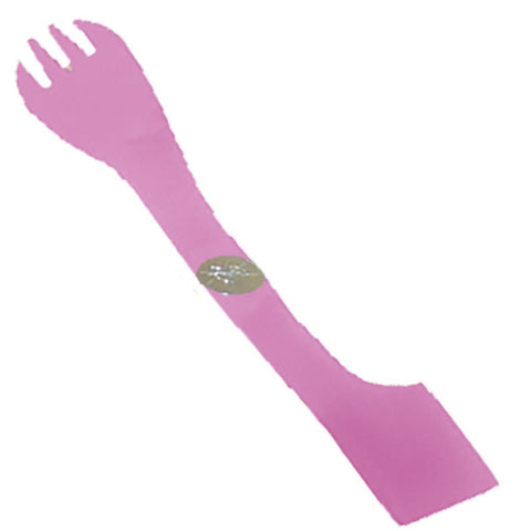 Dual Ended Food Fork - Passion Pink