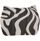 SALE! Small Space Mat - Black & White Tiger Stripe