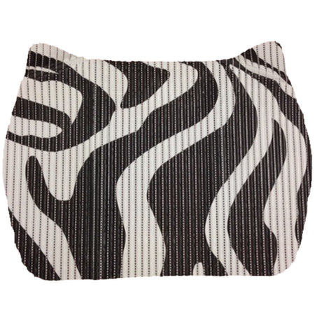Small Space Mat - Black & White Tiger Stripe