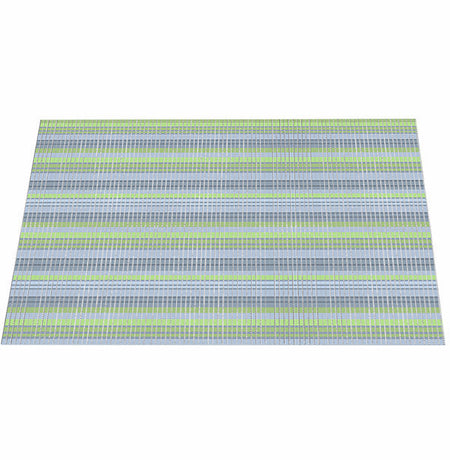 The Original Ribbed Foam Litter Mat -  BlueWater Stripe