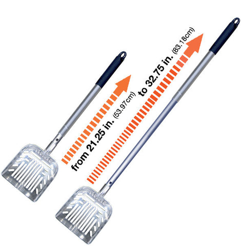 Stand Up & Scoop Metal Extendable Litter Scoop