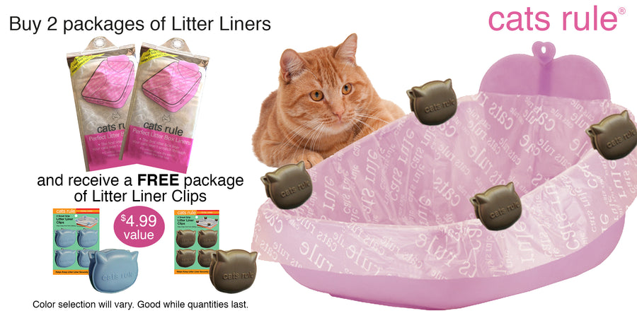 Perfect Litter Box Liners Set of 3 Oversized for Priscilla's Open Pan