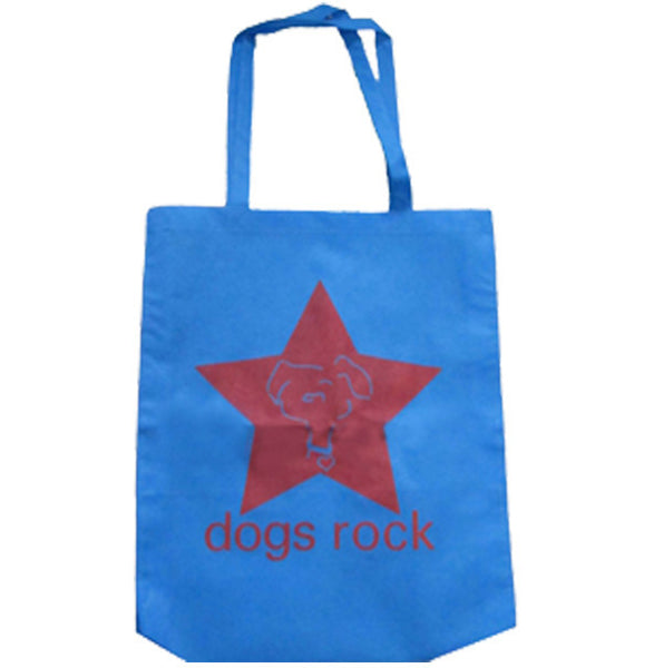 Dogs Rock Tote Bag