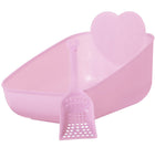 Priscilla's Litter Pan and Scoop Set - Pink (NEW Price Reflects XL Shipping Costs)