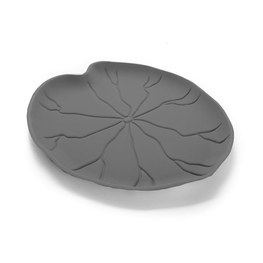 Leaf Splash & Crumb Catcher Mat - Stone