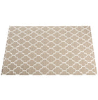 The Original Ribbed Foam LItter Mat - Brown Trellis