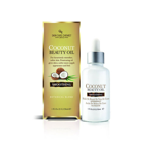 Skin Care Chemist Smoothing Coconut Beauty Oil , 1 oz. -