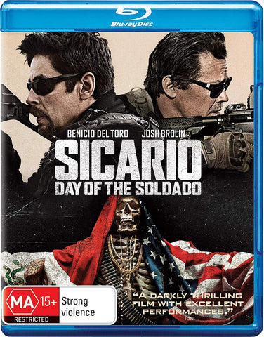 Sicario: Day of the Soldado  Blu-ray + DVD - Brand New