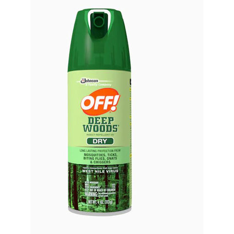 12 / Carton Off! Deep Woods 4-oz Insect Repellent # 616304 -