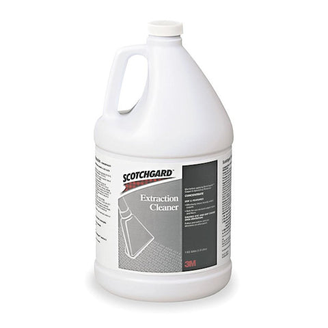 3M Extraction Cleaner Scotchgard Concentrate, 4 /case -1 Gallon each - New - New