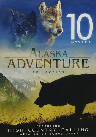 10-Film Alaska Adventure Collection DVD Box Set Mickey Rooney - Brand New