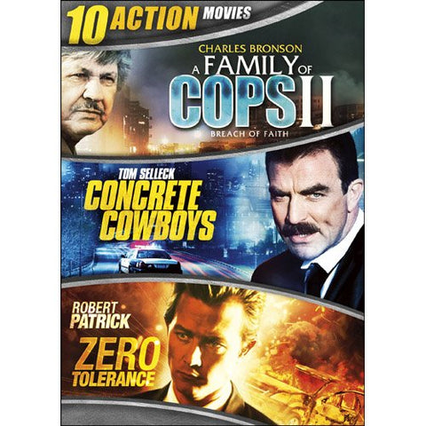 10-Movie Action Collection DVD Box Set Michael Ironside, Richard Cromwell - Brand New