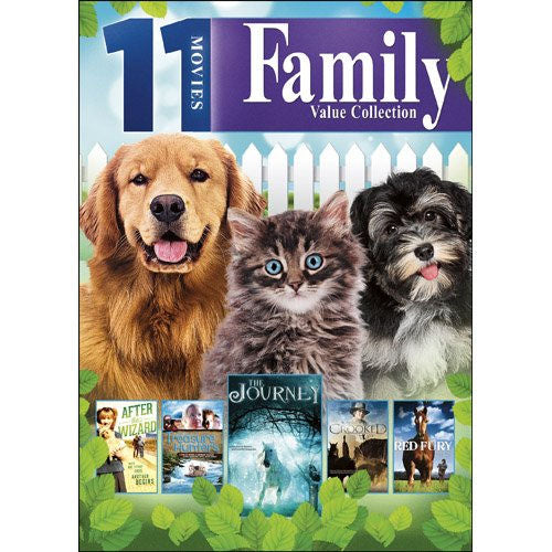 11-Movie Family Value Collection DVD William Jordan, Katherine Cannon - Brand New