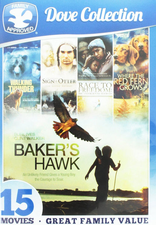 15-Movie Dove Family Collection DVD Box Set John Denver, Dean Smith - Brand New