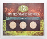 American Coin Treasure 12 Decades of United States 1910S Nickels -