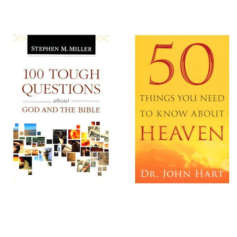 100 Tough Questions About God.../50 Things You Need to Know About Heaven - Brand New