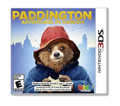 Paddington Adventures In London - Nintendo 3DS Video Game - Acceptable