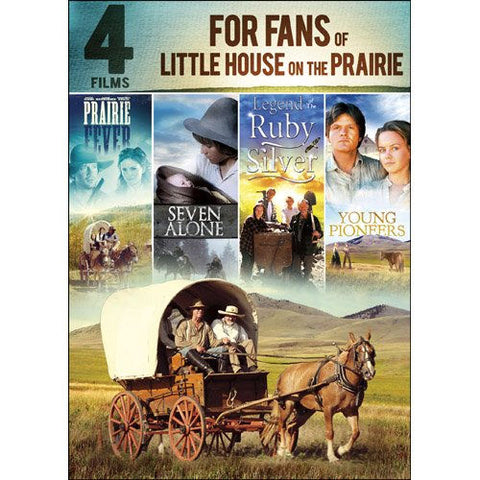 4-Films for Fans of Little House on the Prairie DVD Kevin Sorbo, Lance Henriksen -