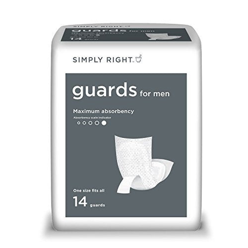 Simply Right Guards for Men, One Size Fits All (84 ct.) by Simply Right -