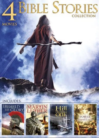 Bible Story Collection: 4 Movies, Vol. 2 DVD I Beheld His Glory/Martin Luther... - Brand New