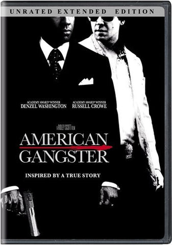 American Gangster DVD Unrated Extended Edition - Brand New