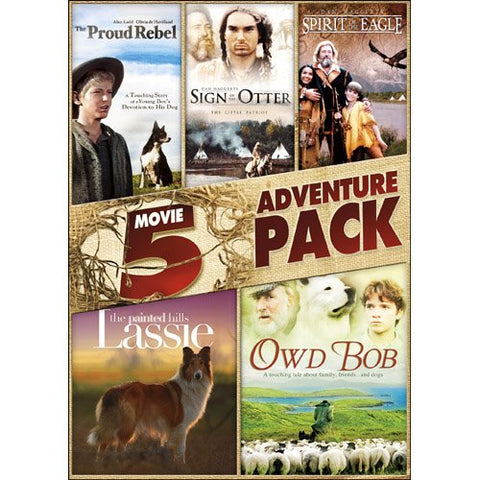 5 Movie Family Adventure Pack Volume 2 DVD James Cromwell, Colm Meaney - Brand New - World's Best Deals