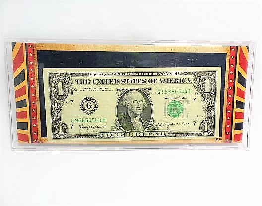 Rare Mysterious Joseph Barr Currency 1963 Dollar Bill -